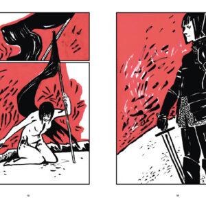 Фрагмент из комикса «Книга тела»
